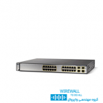 سوییچ cisco ws-c3850-24P-Sسیسکو