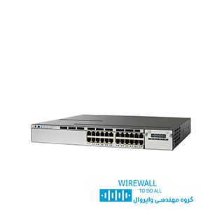 سوئیچ cisco WS-c3750v2-24PS-S سیسکو