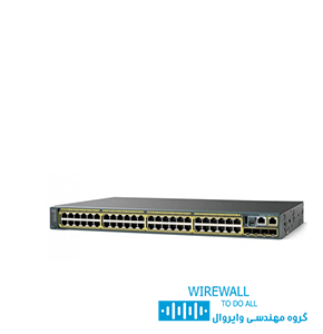 سوییچ cisco WS 2960X-24PS-L سیسکو