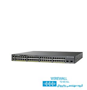 سوییچ cisco WS-2960X-48LPS-Lسیسکو
