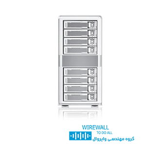 ذخیره ساز شبکه MobileSTOR-MS8X6+HG