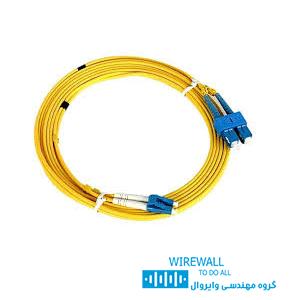 پچ کورد فیبر نوری 2 متری نگزنس SC-LC N123.4CLY2