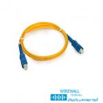پچ کورد فیبر نوری 2 متری نگزنس SC-SC N123.4CCY2